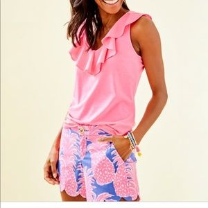 Lilly Pulitzer Alessa Top pink